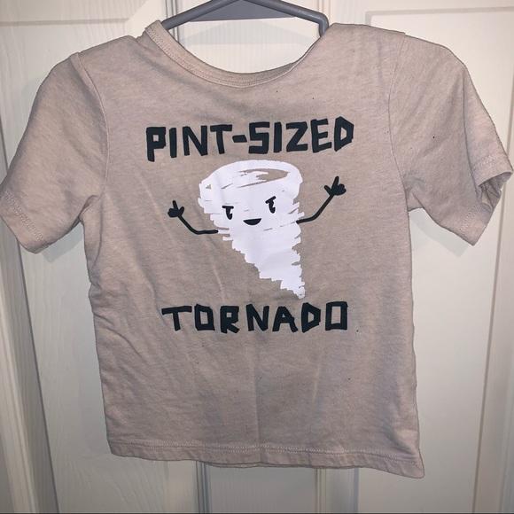 Children's Place Pint Sized Tornado 2T shirt